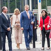 LUX/Luxemburg/20180523 - Staatsbezoek Luxemburg dag 2, Groothertogin Maria Teresa, Koning Willem Alexander, Koningin Maxima en Groothertog Henri