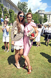 Left to right, AMBER LE BON and her mother YASMIN LE BON at a luncheon hosted by Cartier for their sponsorship of the Style et Luxe part of the Goodwood Festival of Speed at Goodwood House, West Sussex on 5th July 2009.