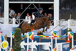 Paris Audrey, (FRA), Isidoor vd Helle<br /> Global Champions Tour Antwerp 2016<br /> © Hippo Foto - Dirk Caremans<br /> 22/04/16
