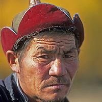 MONGOLIA. Umgan, a shaman near Tsagan Nuur in the Darhad Valley.