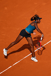 June 7, 2018 - Paris, U.S. - PARIS, FRANCE - JUN 07: SLOANE STEPHENS (USA) during day twelve match of the 2018 French Open 2018 on June 7, 2018, at Stade Roland-Garros in Paris, France. (Photo by Chaz Niell/Icon Sportswire) (Credit Image: © Chaz Niell/Icon SMI via ZUMA Press)