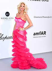 Victoria Silvstedt attending the 26th amfAR Gala held at Hotel du Cap-Eden-Roc during the 72nd Cannes Film Festival. Picture credit should read: Doug Peters/EMPICS