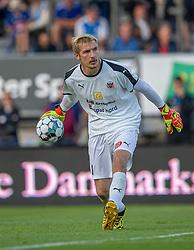Jesper Rask (Hobro IK) under kampen i 3F Superligaen mellem Lyngby Boldklub og Hobro IK den 20. juli 2020 på Lyngby Stadion (Foto: Claus Birch).