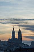 Basilica del Voto Nacional, Quito, Ecuador, South America The Basilica of the National Vow, Ecuador, South America