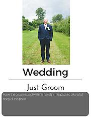 posing cards - just bride/groom