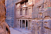 Jordanie, Petra, Le Siq et Khazneh // Jordan, Petra, Le Siq et Khazneh