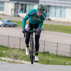 SITTARD (NED) WIELRENNEN<br /> De elite-beloften van Allinq-Krush-De IJsselstreek zijn op trainingskamp in Limburg.