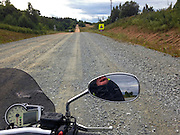 Zilupe, Latvia, 21/07/2013.<br /> Highway E22 under reconstruction.