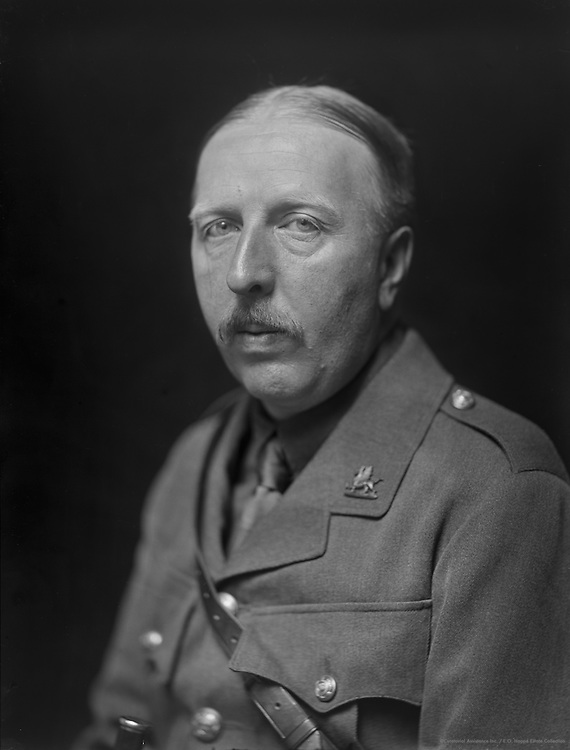 Ford Madox Ford, English Author, 1915