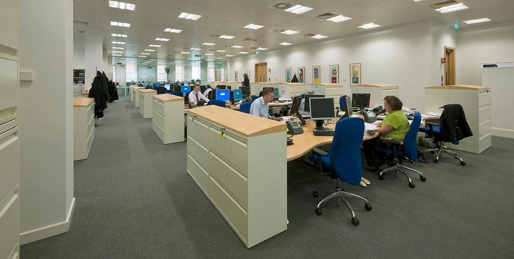 WORK ENVIRONMENTS - OFFICE INTERIOR