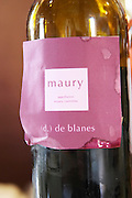 Maury. Domaine (d.) de Blanes by Marie-Pierre Bories. Roussillon. France. Europe. Bottle.