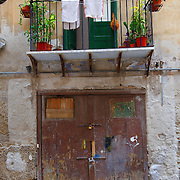 House of Palermo old town, Sicily