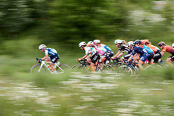 Ashleigh Moolman Pasio (RSA) and Sara Penton (SWE) in the bunch at Stage 2 of 2019 OVO Women's Tour, a 62.5 km road race starting and finishing in the Kent Cyclopark in Gravesend, United Kingdom on June 11, 2019. Photo by Sean Robinson/velofocus.com