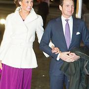 NLD/Rotterdam/20140201 - Beatrix met hart en ziel, Prins Maurits en Prinses Marilene