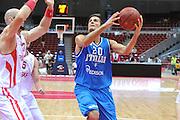 Danzica - Polonia 05 Agosto 2012 - TORNEO INTERNAZIONALE SOPOT CUP - Polonia Italia<br /> Nella Foto : ANDREA CINCIARINI<br /> Foto Ciamillo