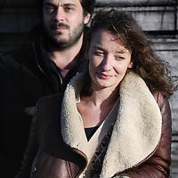 Nederland, Amsterdam , 28 november 2013.<br /> Filmmakers Niels van Koevorden en Sabine Lubbe-Bakker van de documentaire  Ne Me Quitte Pas.<br /> Foto:Jean-Pierre Jans