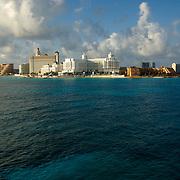 Cancun hotel zone. Quintana Roo, Mexico.