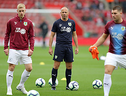 """Burnley assistant manager Ian Woan before the Premier League match at St Mary's, Southampton. PRESS ASSOCIATION Photo. Picture date: Sunday August 12, 2018. See PA story SOCCER Southampton. Photo credit should read: Andrew Matthews/PA Wire. RESTRICTIONS: EDITORIAL USE ONLY No use with unauthorised audio, video, data, fixture lists, club/league logos or """"live"""" services. Online in-match use limited to 120 images, no video emulation. No use in betting, games or single club/league/player publications."""