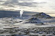 Hellisheiði, geothermal peninsula, south-west Iceland