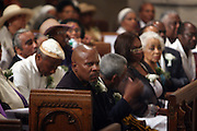 Avery Brooks at the Celebration of the Life and Legacy of Dr. Barabara Ann Teer at the Memorial Service held at The Riverside Church in Harlem, NY on Monday, July 28, 2008