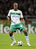 Fotball<br /> Tyskland<br /> 16.09.2008<br /> Foto: Witters/Digitalsport<br /> NORWAY ONLY<br /> <br /> Naldo<br /> <br /> Fussball Champions League Werder Bremen v Anorthosis Famagusta 0-0