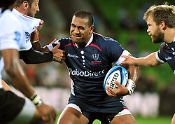 Cooper Vuna (Rebels).Melbourne Rebels v The Sharks.Rugby Union - 2011 Super Rugby.AAMI Park, Melbourne VIC Australia.Friday, 11 March 2011.© Sport the library / Jeff Crow