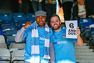 Coventry City fans ahead of the EFL Sky Bet League 1 match between Luton Town and Coventry City at Kenilworth Road, Luton, England on 24 February 2019.