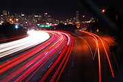 500px Photo ID: 4411091 - 101 james lick freeway into san francisco, long exposure
