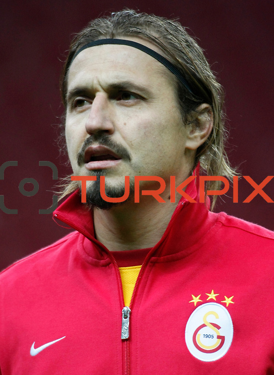 Galatasaray's Ayhan Akman during their Turkey Cup matchday 3 soccer match Galatasaray between AdanaDemirspor at the Turk Telekom Arena at Aslantepe in Istanbul Turkey on Tuesday 10 January 2012. Photo by TURKPIX