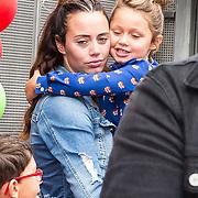 NLD/Amsterdam/20190814 - Premiere Angry Birds 2, Jacky Duchenne en dochter Mikayla