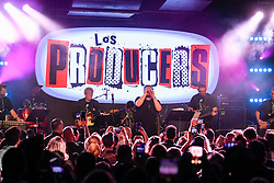 Leonel Garcia performs onstage during the 9th Annual BMI & Rebeleon Entertainment's 'Los Producers Charity Concert' held at The Hard Rock Cafe on November 14, 2019 in Las Vegas, Nevada, United States (Photo by JC Olivera for BMI & Rebeleon Entertainment)