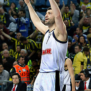 Fenerbahce Ulker's Omer ONAN during their Turkish Basketball league derby match  Fenerbahce Ulker between Galatasaray Cafe Crown at Sinan Erdem Arena in Istanbul, Turkey, Wednesday, April 20, 2011. Photo by TURKPIX