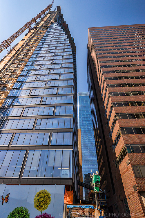 TELUS Sky Building (Under Construction) & Hanover Building