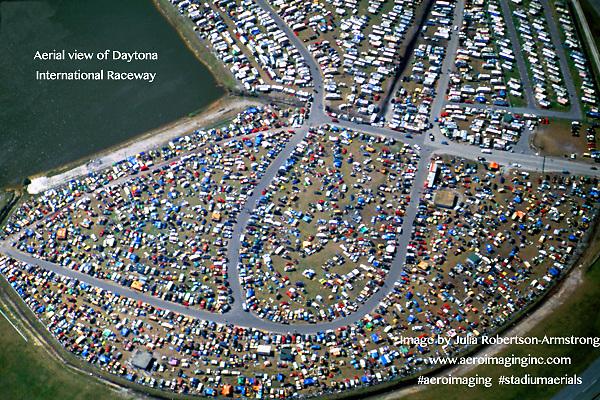 aerial view of Daytona International Speedway