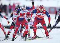 Langrenn<br /> FIS World Cup<br /> 18.01.2015<br /> Foto: Gepa/Digitalsport<br /> NORWAY ONLY<br /> <br /> OTEPÄÄ - ESTLAND<br /> <br /> FIS World Cup, team sprint, men. Image shows Ola Vigen Hattestad (NOR) and Anders Gløersen (NOR).