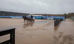 Training Fahrpferde<br /> Tryon - FEI World Equestrian Games™ 2018<br /> Fotoimpressionen vom Veranstaltungsgelände vom Sonntag nach Hurricane Florence<br /> 16. September 2018<br /> © www.sportfotos-lafrentz.de/Stefan Lafrentz