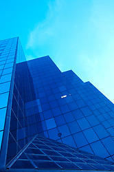 Glass office building exterior