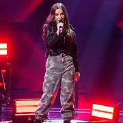 NLD/Hilversum/20190201- TVOH 2019 1e liveshow, optreden Mikki van Wijk