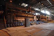Fonderie all'interno dell'impianto siderurgico ILVA di Taranto. Taranto, 6 giugno 2008. Christian Mantuano / OneShot