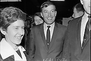 Singer Val Doonican opens new Silk Department at Boyers Stores, North Earl Street, Dublin..25.05.1967