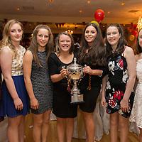 Miltown Minor Footballers Aine Keane, Megan Crowley, Ciara Malone, Anna Lineen, Aisling Parraharen, Lucy Haran and Emer Keane