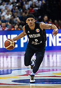 NANJING,CHINA:SEPTEMBER 5th 2019.FIBA World Cup Basketball 2019 Group phase match.Group F. New Zealand vs Greece. Point Guard Tai WEBSTER.<br /> Photo by Jayne Russell / www.PhotoSport.nz