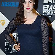 NLD/Amsterdam/20151012 - MTV EMA Pre Party, Teske de Schepper