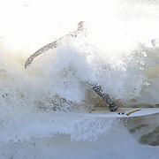 Cornish white water surfing