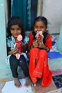 People in Pulicat town, Pulicat Lake, India