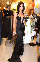 MARIE DONOHUE at a party to celebrate the opening of the new H&M Flagship Store at 17-21 Brompton Road, London SW3 on 23rd March 2005.<br /><br />NON EXCLUSIVE - WORLD RIGHTS