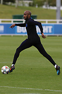 England midfielder Fabian Delph on the ball during the training session for England at St George's Park National Football Centre, Burton-Upon-Trent, United Kingdom on 28 May 2019.