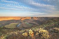 Horseshoe Bend of the John Day River Oregon