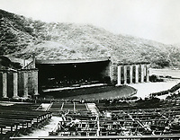 1922 Early covered stage at The Hollywood bowl