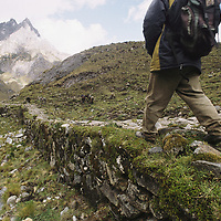 PERU, Cordillera Vilcabamba.